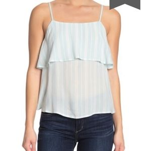 👕ABOUND - NWT Tiered Tank Top